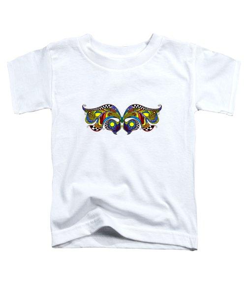 Chrysalis Toddler T-Shirt by Dar Freeland