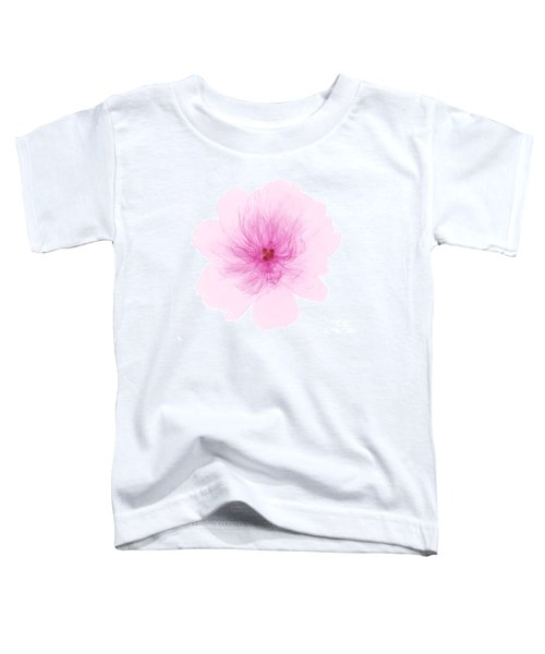 X-ray Of Peony Flower Toddler T-Shirt