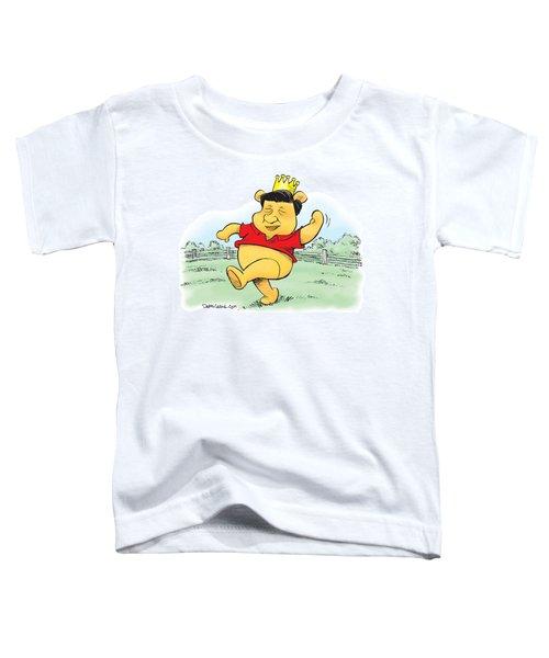 Xi The Pooh Toddler T-Shirt