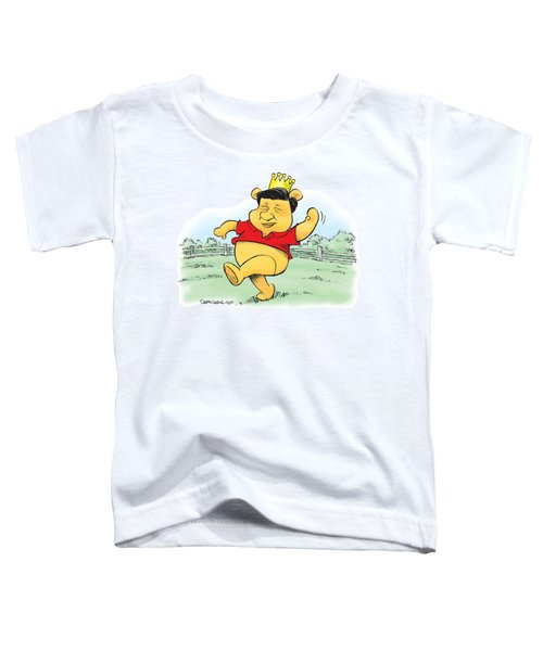 Xi The Pooh Toddler T-Shirt