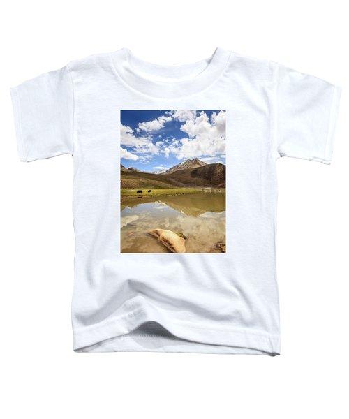 Yaks In Ladakh Toddler T-Shirt