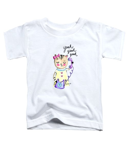 Yeah Yeah Yeah Toddler T-Shirt