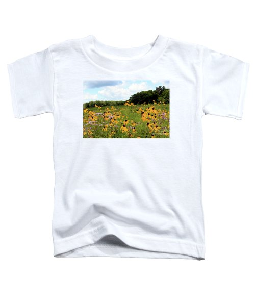 Yellow Cone Flowers Toddler T-Shirt