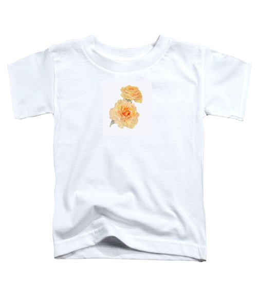 Yellow Roses Toddler T-Shirt by Beatrice Cloake