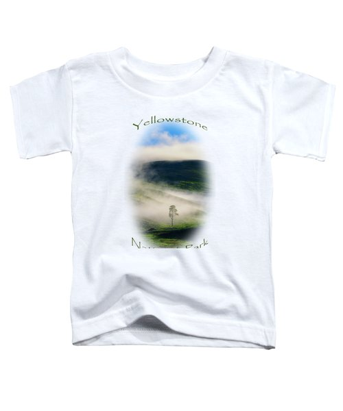 Toddler T-Shirt featuring the photograph Yellowstone T-shirt by Greg Norrell