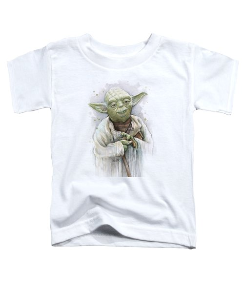 Yoda Toddler T-Shirt