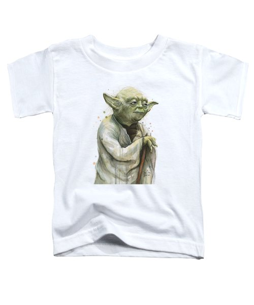 Yoda Portrait Toddler T-Shirt