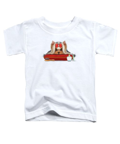Yorkie Beauty Toddler T-Shirt