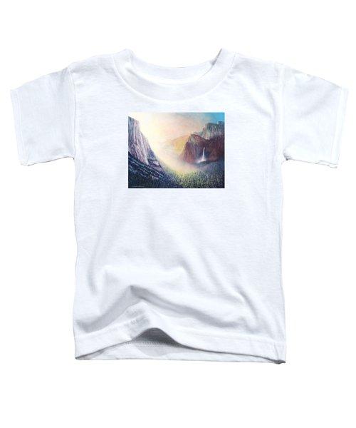 Yosemite Morning Toddler T-Shirt