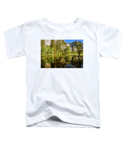 Yosemite Reflections On The Merced River Toddler T-Shirt