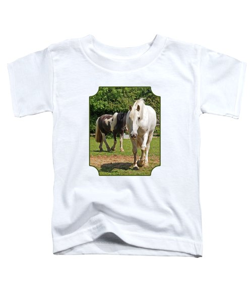 You Lead I'll Follow - Horse Friends Toddler T-Shirt