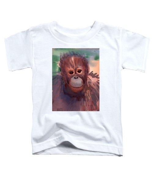 Young Orangutan Toddler T-Shirt