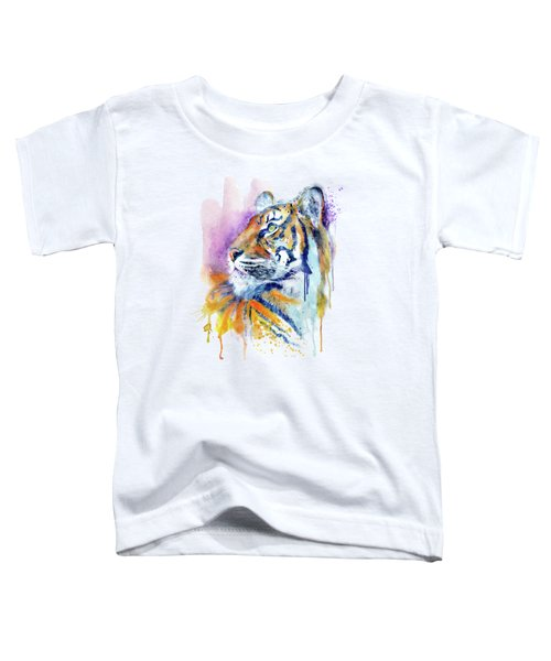 Young Tiger Portrait Toddler T-Shirt