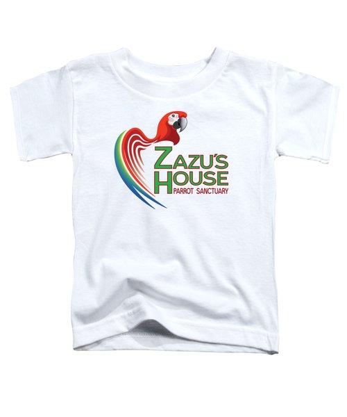 Zazu's House Parrot Sanctuary Toddler T-Shirt by Zazu's House Parrot Sanctuary