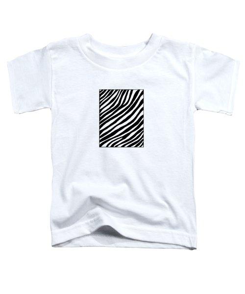 Zebra Toddler T-Shirt by Konstantin Sevostyanov