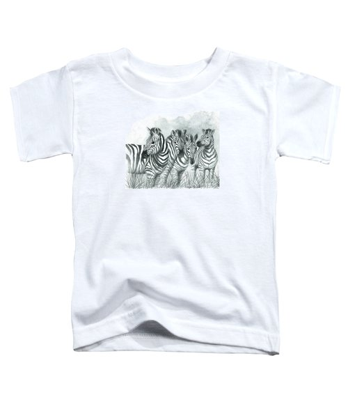 Zebra Quartet Toddler T-Shirt