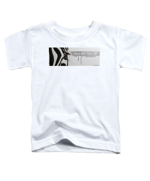 Zebra Tears Toddler T-Shirt