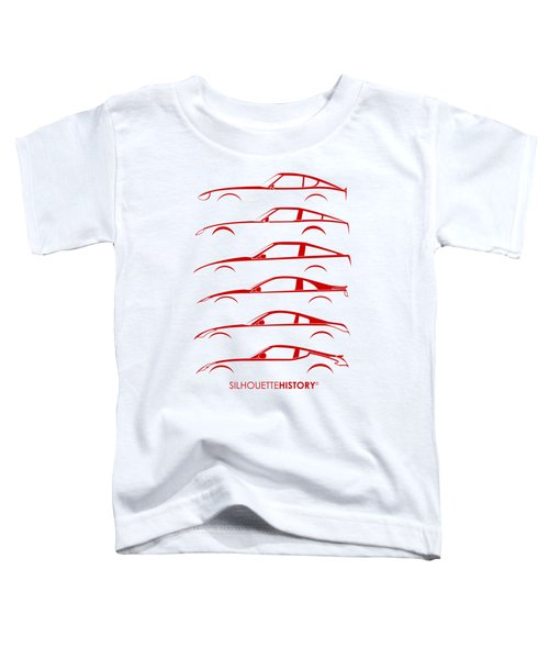 Zee Car Silhouettehistory Toddler T-Shirt