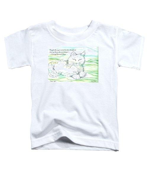 Zen Cat Toddler T-Shirt