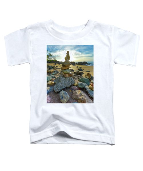 Zen Rock Balance Toddler T-Shirt