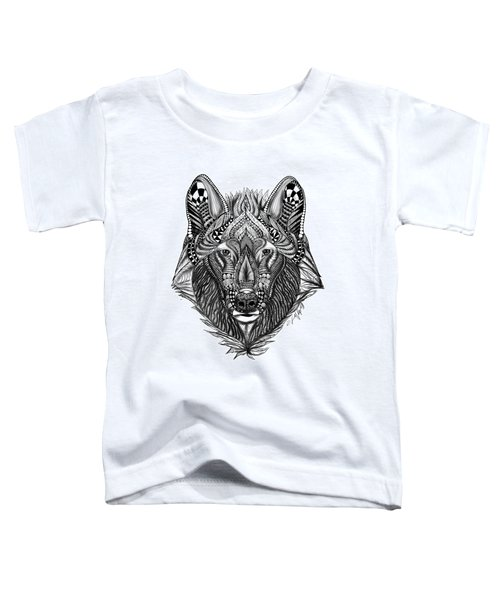 Zendoodle Wolf Toddler T-Shirt