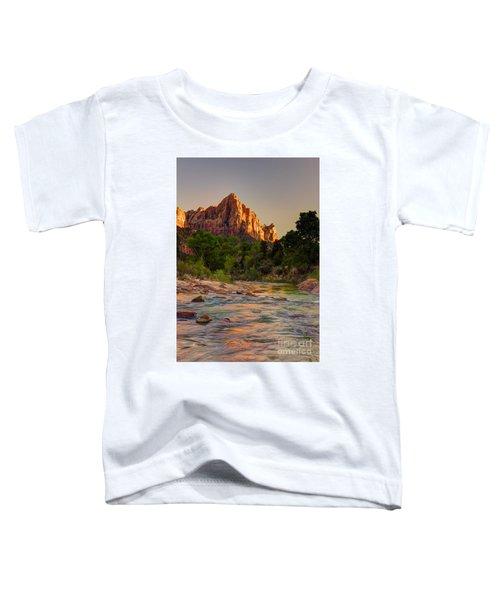 Zion Sunet Toddler T-Shirt