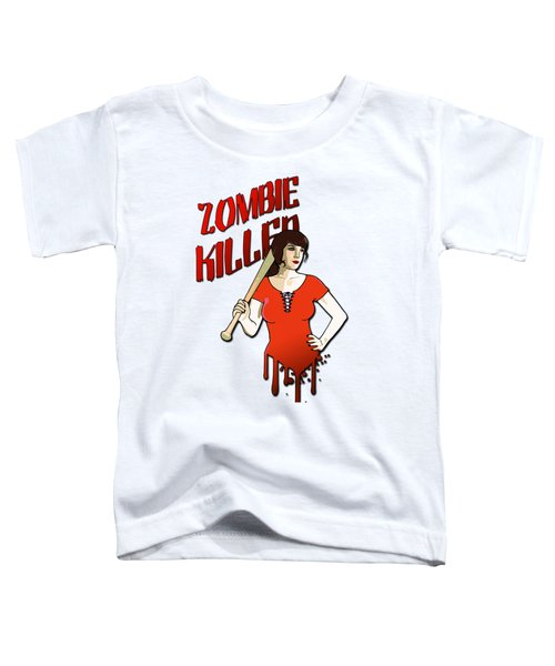 Zombie Killer Toddler T-Shirt by Nicklas Gustafsson