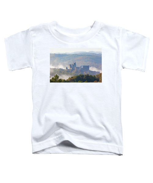 Chateau Beynac In The Mist Toddler T-Shirt