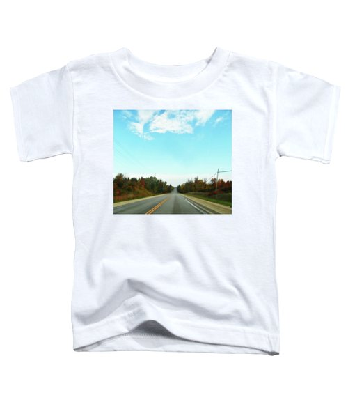 Collingwood In The Distance Toddler T-Shirt