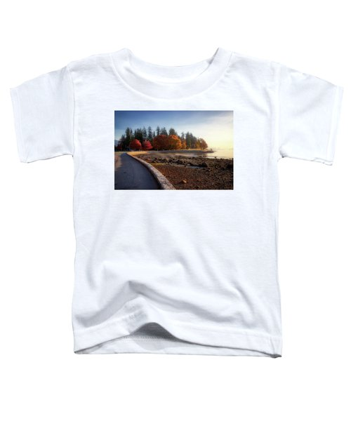 Colorful Autumn Foliage At Stanley Park Toddler T-Shirt