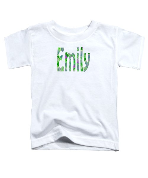 Emily Toddler T-Shirt