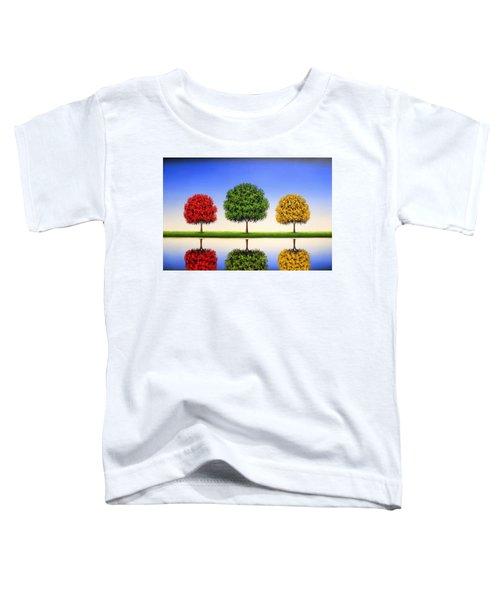 Endless Blue Toddler T-Shirt
