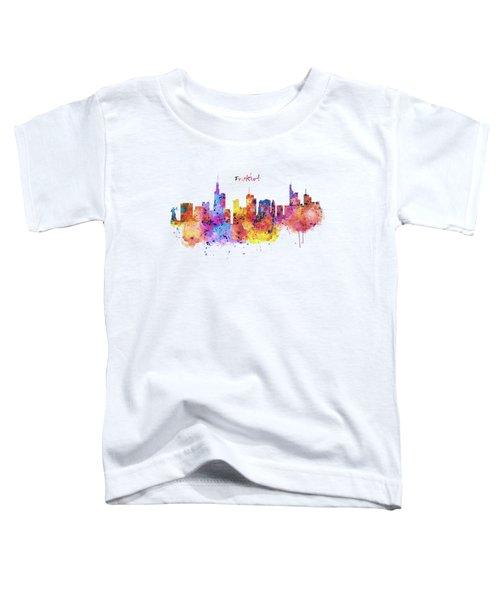 Frankfurt Skyline Toddler T-Shirt