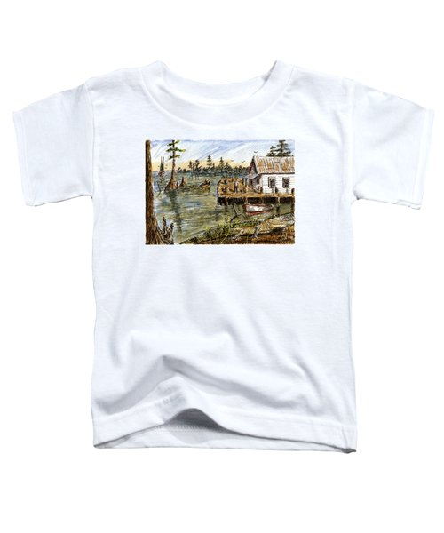 In The Swamp Toddler T-Shirt