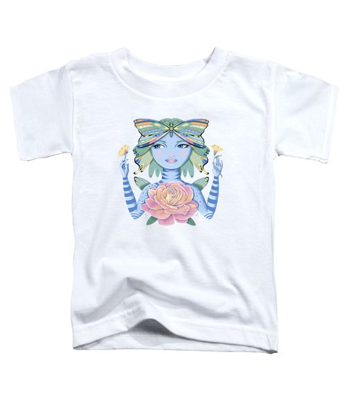 Insect Girl, Winga, With Rose Toddler T-Shirt