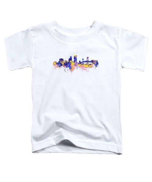 Jacksonville Skyline Silhouette Toddler T-Shirt
