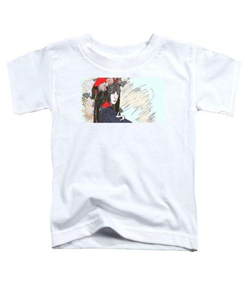 Japanese Portrait Toddler T-Shirt