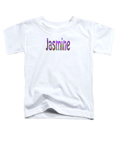 Jasmine Toddler T-Shirt
