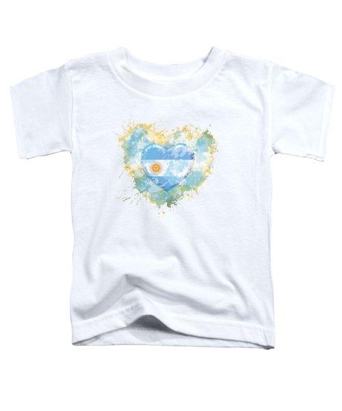Love Argentina Toddler T-Shirt
