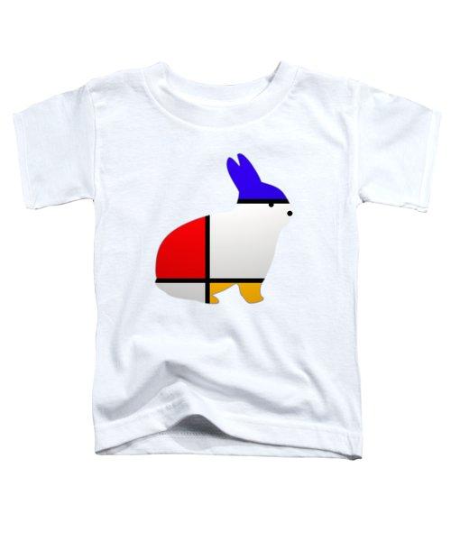 Modern White Toddler T-Shirt
