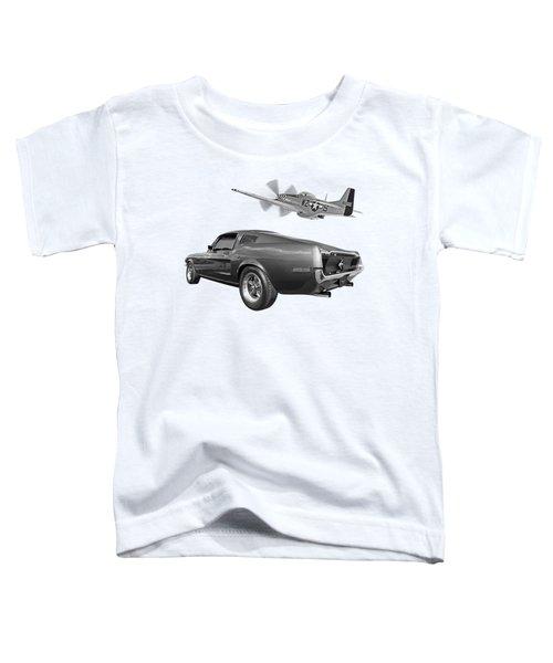 p51 With Bullitt Mustang Toddler T-Shirt