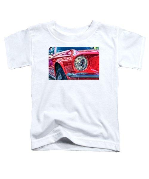 Red Vintage Car Toddler T-Shirt