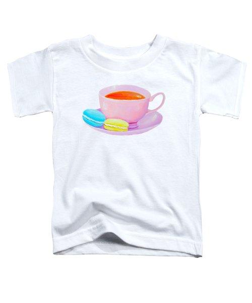 Tea And Macaroons Toddler T-Shirt