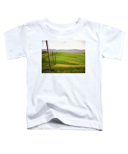 Tuscan Landscapes. Hills In The Spring Toddler T-Shirt