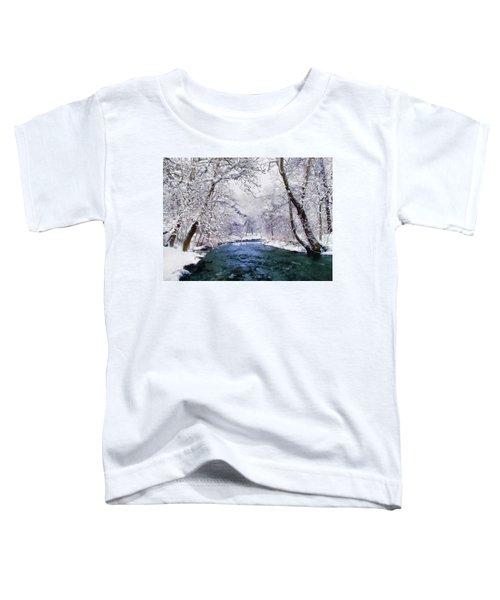 Winter White Toddler T-Shirt