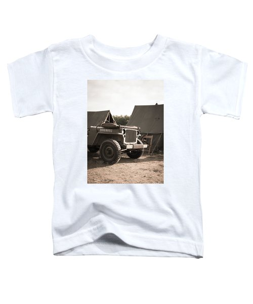 World War II Us Army Jeep Toddler T-Shirt