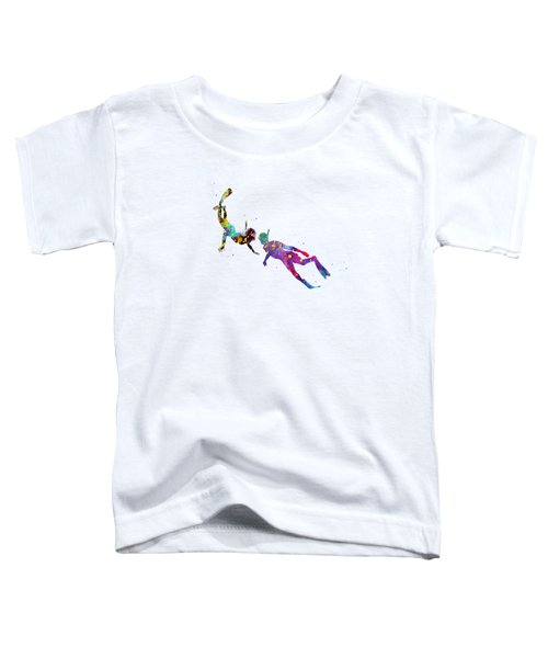 Scuba Divers Toddler T-Shirt