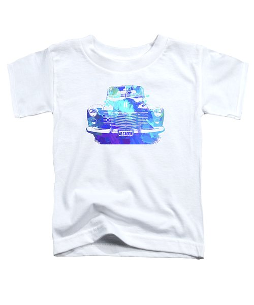 1941 Cadillac Front Abs Blue Toddler T-Shirt