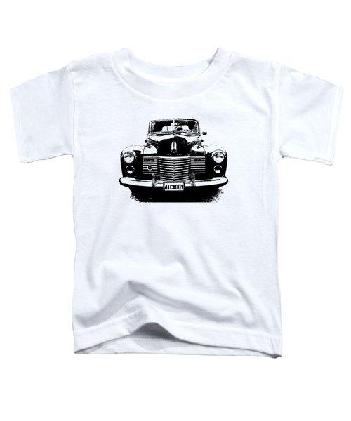 1941 Cadillac Front Blk Toddler T-Shirt