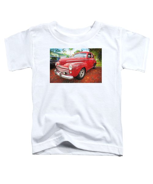 1947 Ford Super Deluxe Coupe 001 Toddler T-Shirt